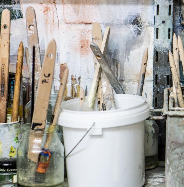 Das Werkzeug des Malers